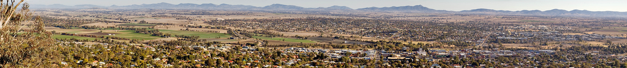 Tamworth from the look out Tamworth, New South Wales Australia - 17 Jun 2006