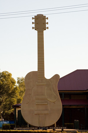Big Golden Guitar Tamworth, New South Wales Australia - 17 Jun 2006