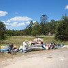 Fly-tipping in rural NSW, Australia