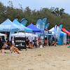 2020-02-24_Noosa Longboard Open_E_6.JPG<br /> Noosa Longboard Open<br /> <br /> Shelters doing double duty, protecting the crowd from rain and then sun