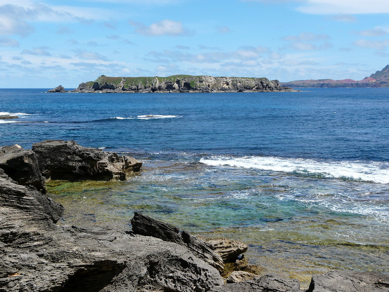 Sunday - Looking to Phillip Island from Point Hunter.