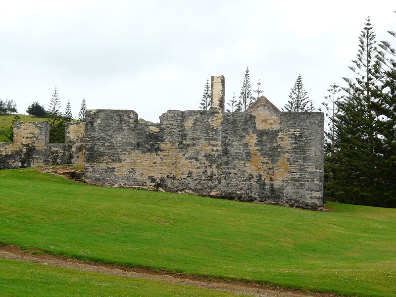 Monday - Another ruin at Kingston.