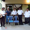 Monday - Staff at the All Seasons Colonial Hotel provided entertainment for an hour from around 1700 hours.