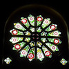 Sunday - Detail of a stained glass window in St Barnabas Chapel.
