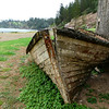 Monday - Old Whaler Boat lies abandoned at the Crank Mill - opposite direction from previous shot.