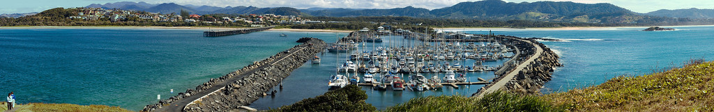 Marina, from Mutton Bird Island Coffs Harbour, NSW Australia - 19 Jun 2006