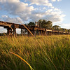 Wooden viaduct at Eltham, NSW, Australia