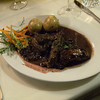 kangaroo steak in blueberry sauce....mmmm