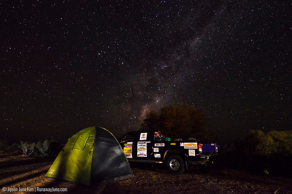 Starry night in Birdsville