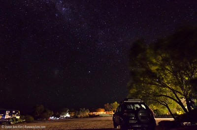 Starry night in Birdsville