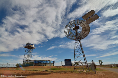 Boulia Windmill and water tank
