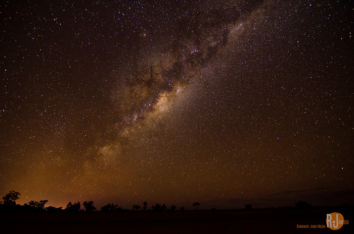 The Milky Way seen from the Southern Hemisphere
