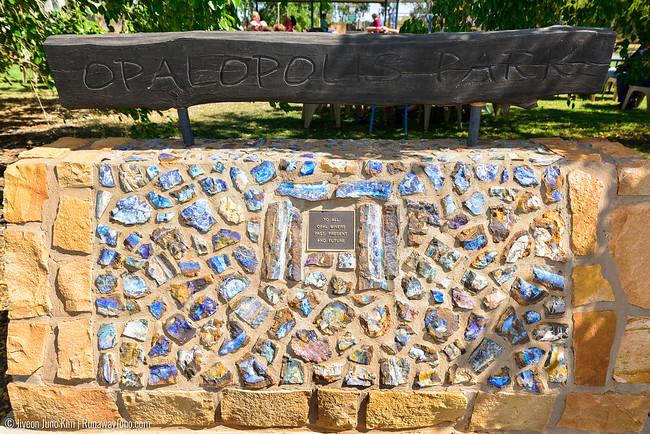 Opalapolis monument