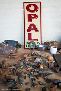 Opal in Eromanga region