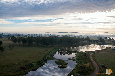 Gold Coast countryside in early morning