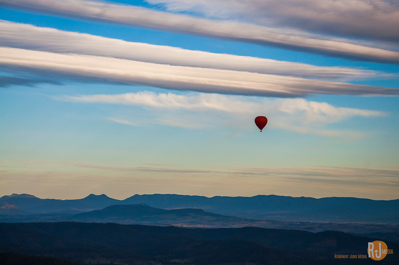 Hot Air Balloon ride in the Gold Coast