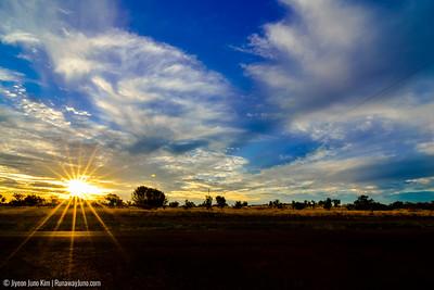 Sunset in Windorah