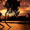 Ross River Sunset