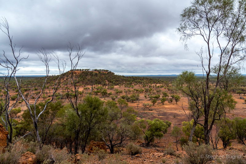 View from Baldy Top outside of Quilpie.