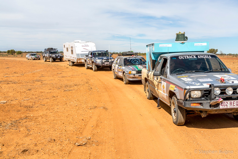Outback Trailblazers road rally