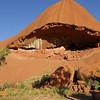 Close up at Ayers Rock - Uluru