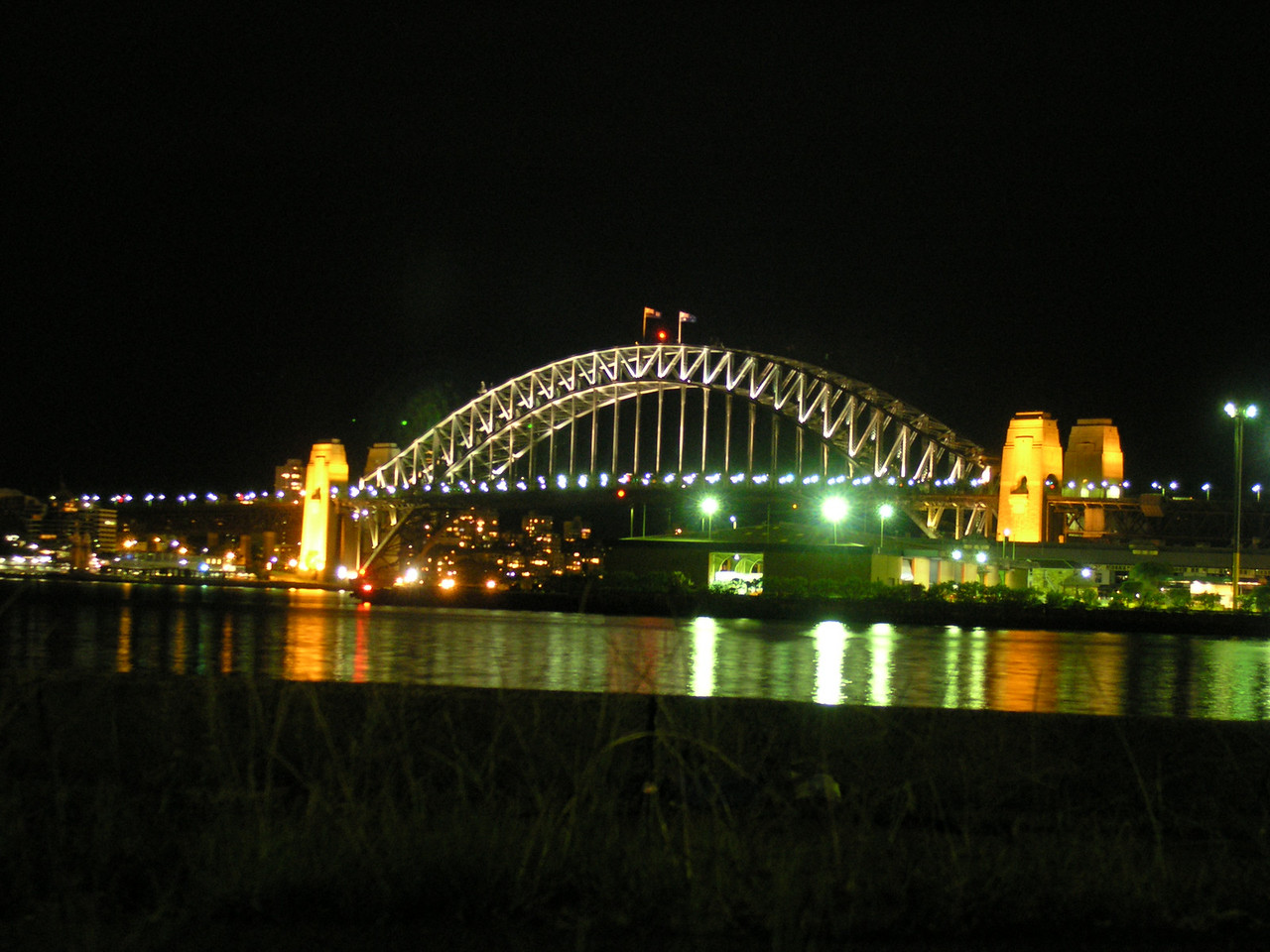 Harbour Bridge from Maggot's birthday shindig