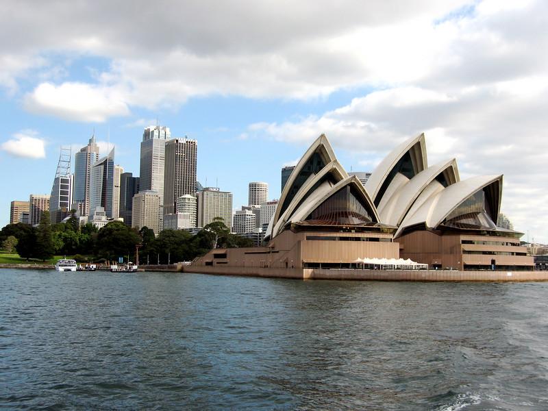 Opera House and Sydney