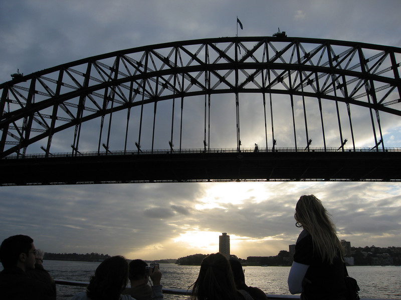 Harbor Bridge, Sunset