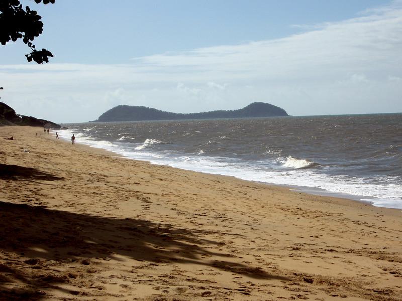 Trinity Beach, 15k north of Cairns