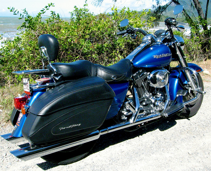 My first Hog, driving Cairns to Port Douglas