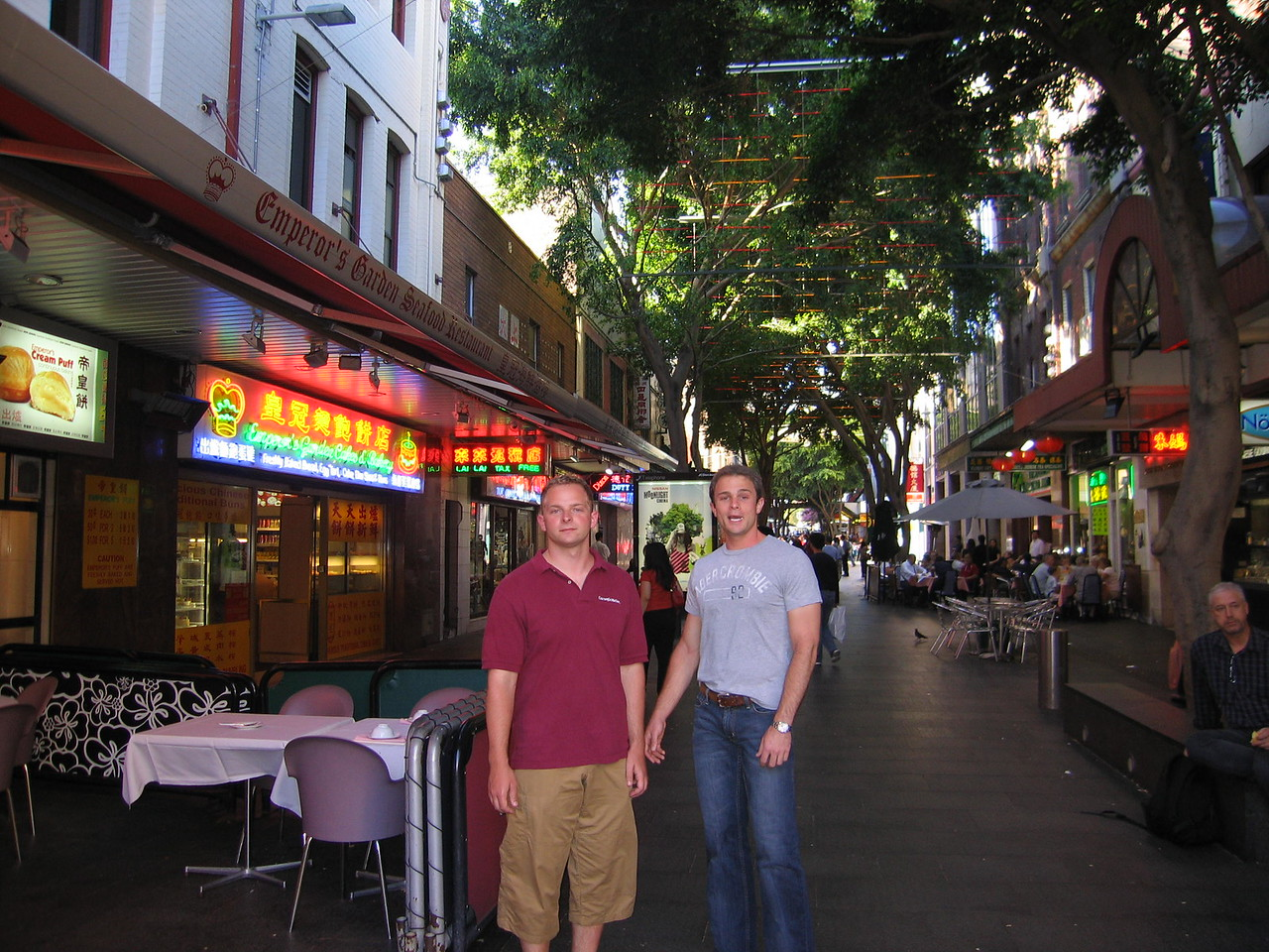 China Town - Rob and Steve