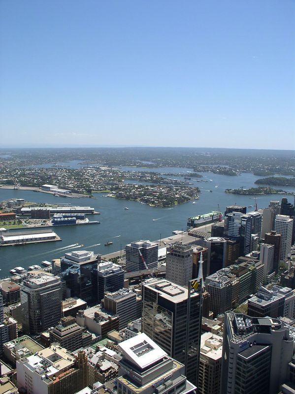 Sydney, view from the Tower