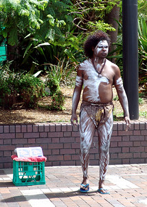 "Aborigine (originated from Latin, meaning ""from the origin"") refers in a general sense to: Indigenous peoples, peoples with a prior or historical association with a land, and who maintain (at least in part) their distinct traditions and association with the land, and are differentiated in some way from the surrounding populations and dominant nation-state culture and governance"