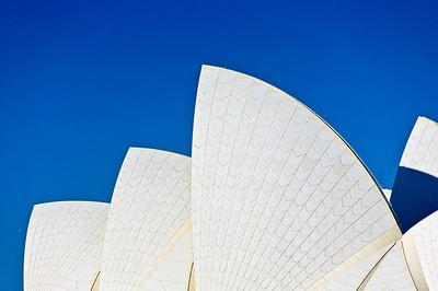 The sails of Sydney Opera House
