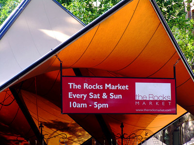 The Rocks Market, Sydney