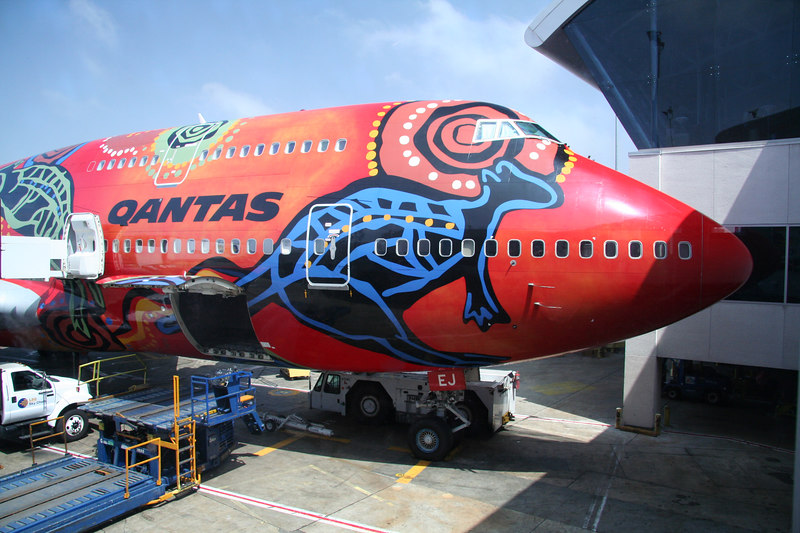 Qantas--the only way to fly!