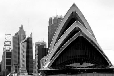 Sydney Architecture, Opera House in Foreground