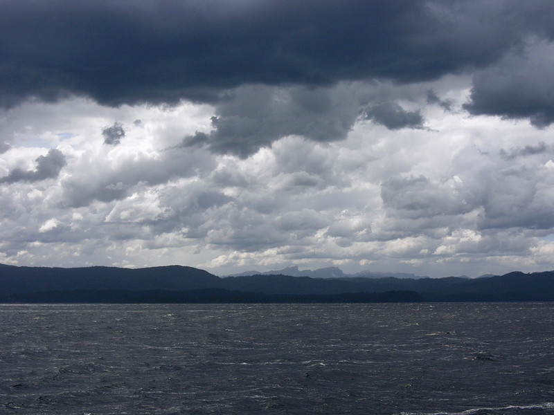 Grey day on Macquarie Inlet