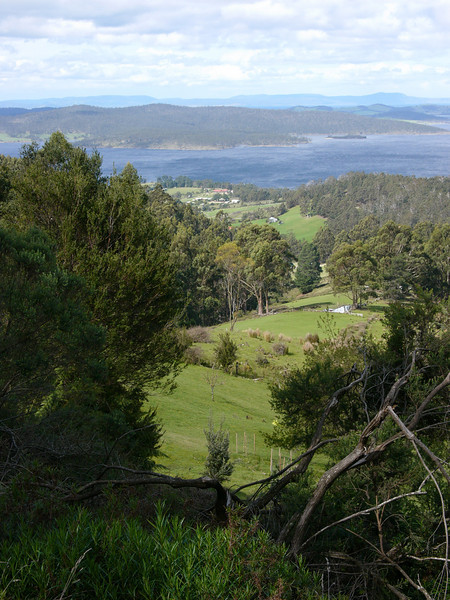 Bruny Island from mainland. Digilux 2