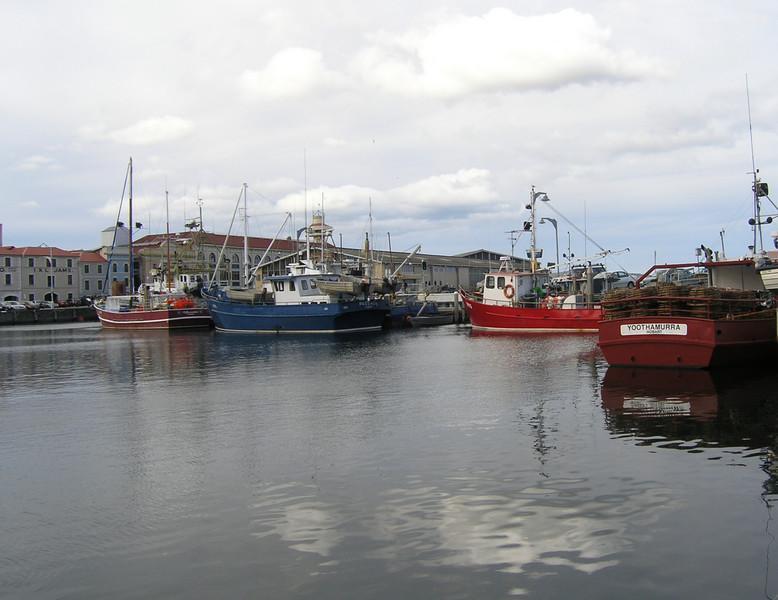 The docks at Hobart