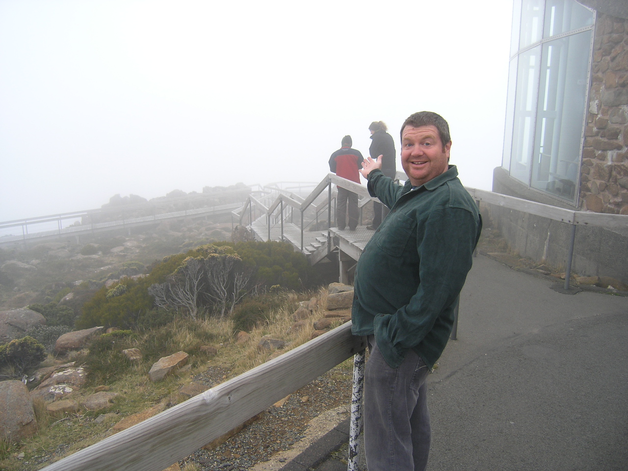 Look at that view from Mount Wellington