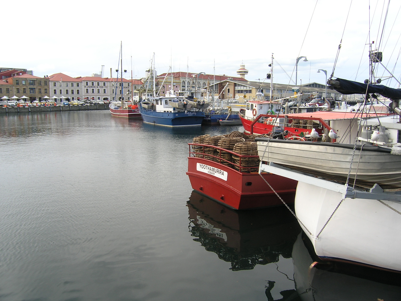 The docks at Hobart
