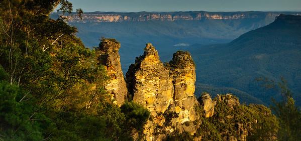 The Three Sisters The Blue Mountains Katoomba New South Wales Australia