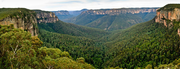 Govett's Leap Blackheath Blue Mountains - NSW Australia - 6 Oct 2005