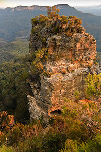 One of the Three Sisters The Blue Mountains Katoomba - NSW Australia - 5 Oct 2005