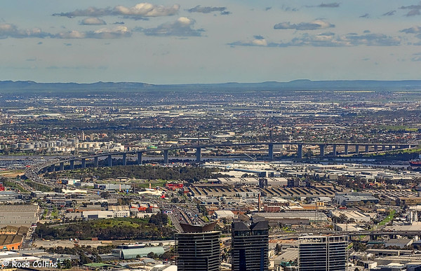 Views from the Eureka Tower, Melbourne, 21 September 2016