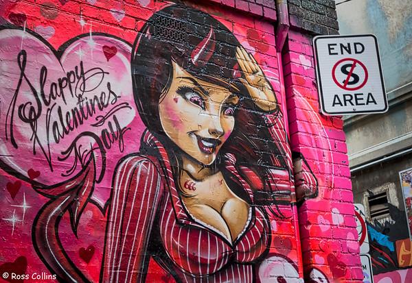 Hosier Lane, Melbourne, 2 July 2013