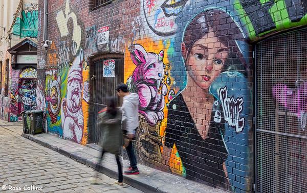 Hosier Lane, Melbourne 2013