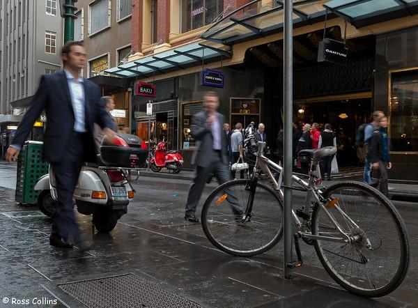 Little Collins Street, Melbourne, Australia, May 2011