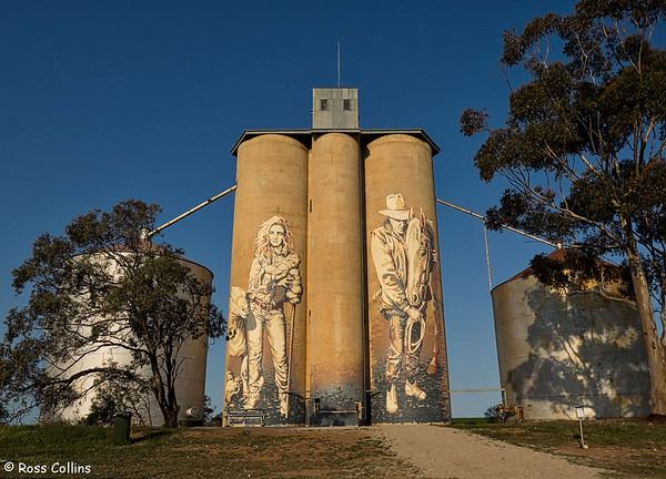 Silo Art Trail, Victoria, Australia, 10 September 2018